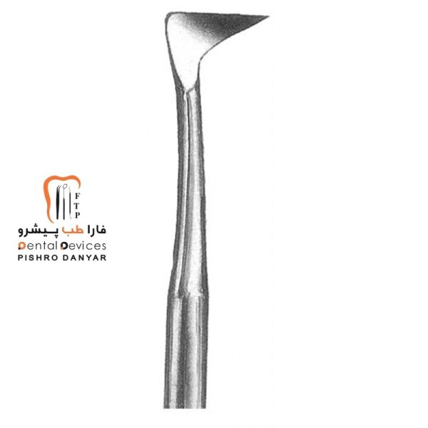 ابزار و لوازم و تجهیزات دندانپزشکی الواتور پرچمی چپ (کرایر)