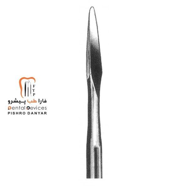 ابزار و لوازم و تجهیزات دندانپزشکی الواتور مثلثی ریشه