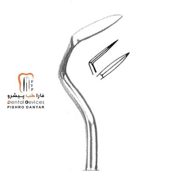 ابزار و لوازم و تجهیزات دندانپزشکی چاقو اربن چپ