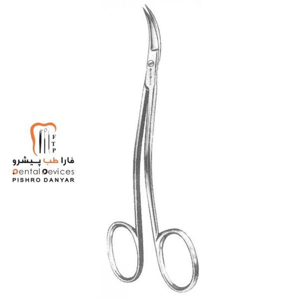ابزار و لوازم و تجهیزات دندانپزشکی قیچی دوخم