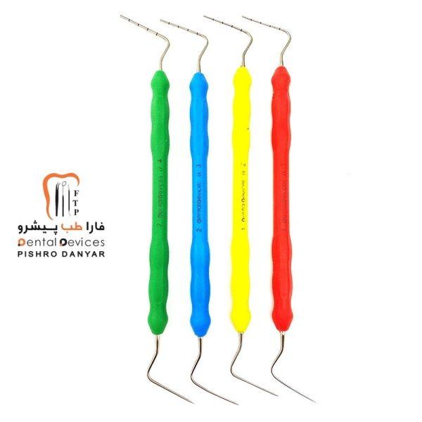 ابزار و لوازم و تجهیزات دندانپزشکی ست هیت کریر دسته سیلیکونی