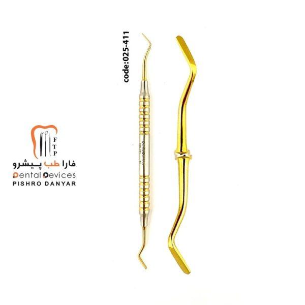 لوازم و تجهیزات دندانپزشکی قلم طلایی زیبایی کامپوزییت 411