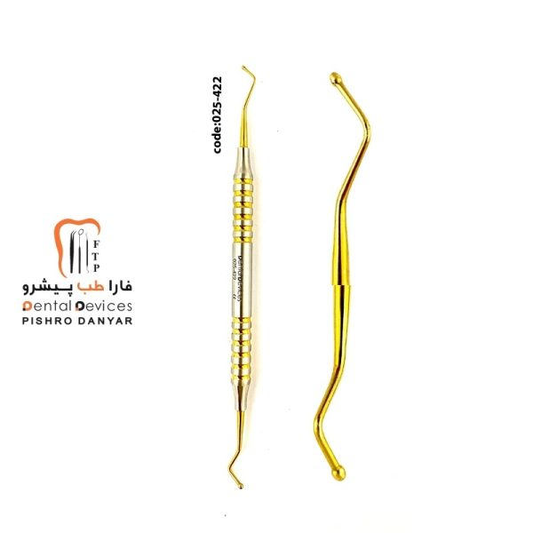 لوازم و تجهیزات دندانپزشکی قلم طلایی زیبایی کامپوزییت 422