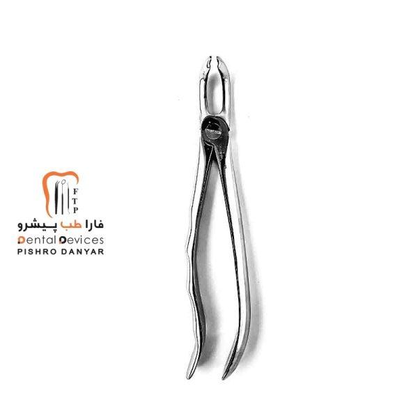 ابزار و لوازم و تجهیزات دندانپزشکی فورسپس عقل پایین آناتومیک