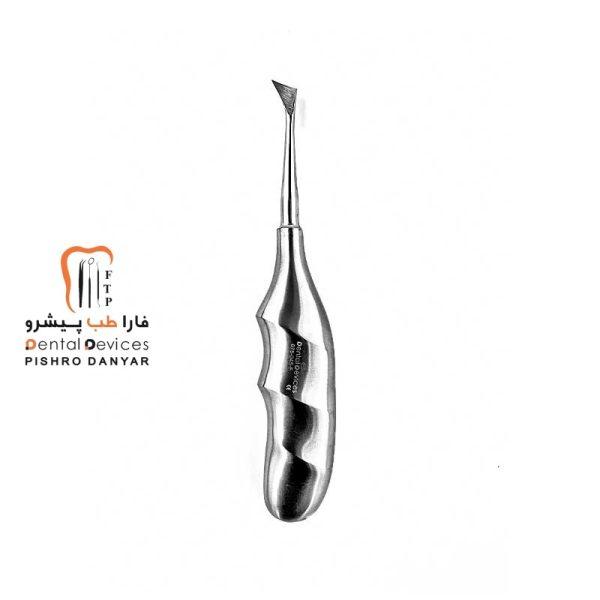 ابزار و لوازم و تجهیزات دندانپزشکی الواتور کریر راست آناتومیک