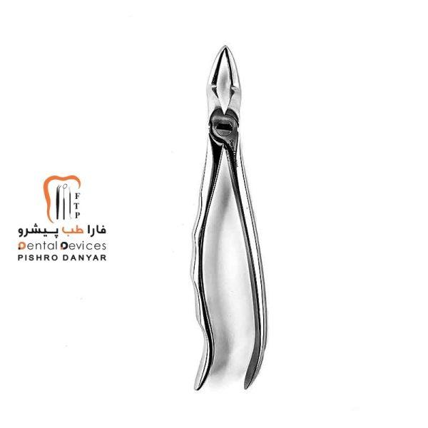 ابزار و لوازم و تجهیزات دندانپزشکی فورسپس ریشه کش بالا آناتومیک